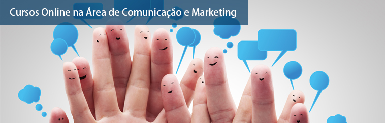 Cursos na �rea de Comunica��o e Marketing