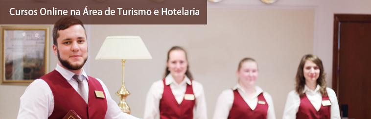 Cursos na �rea de Turismo e Hotelaria