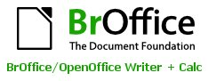 BrOffice (Writer + Calc)