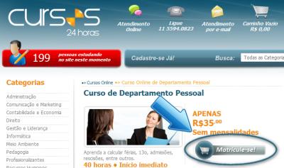 Cursos 24 Horas Online